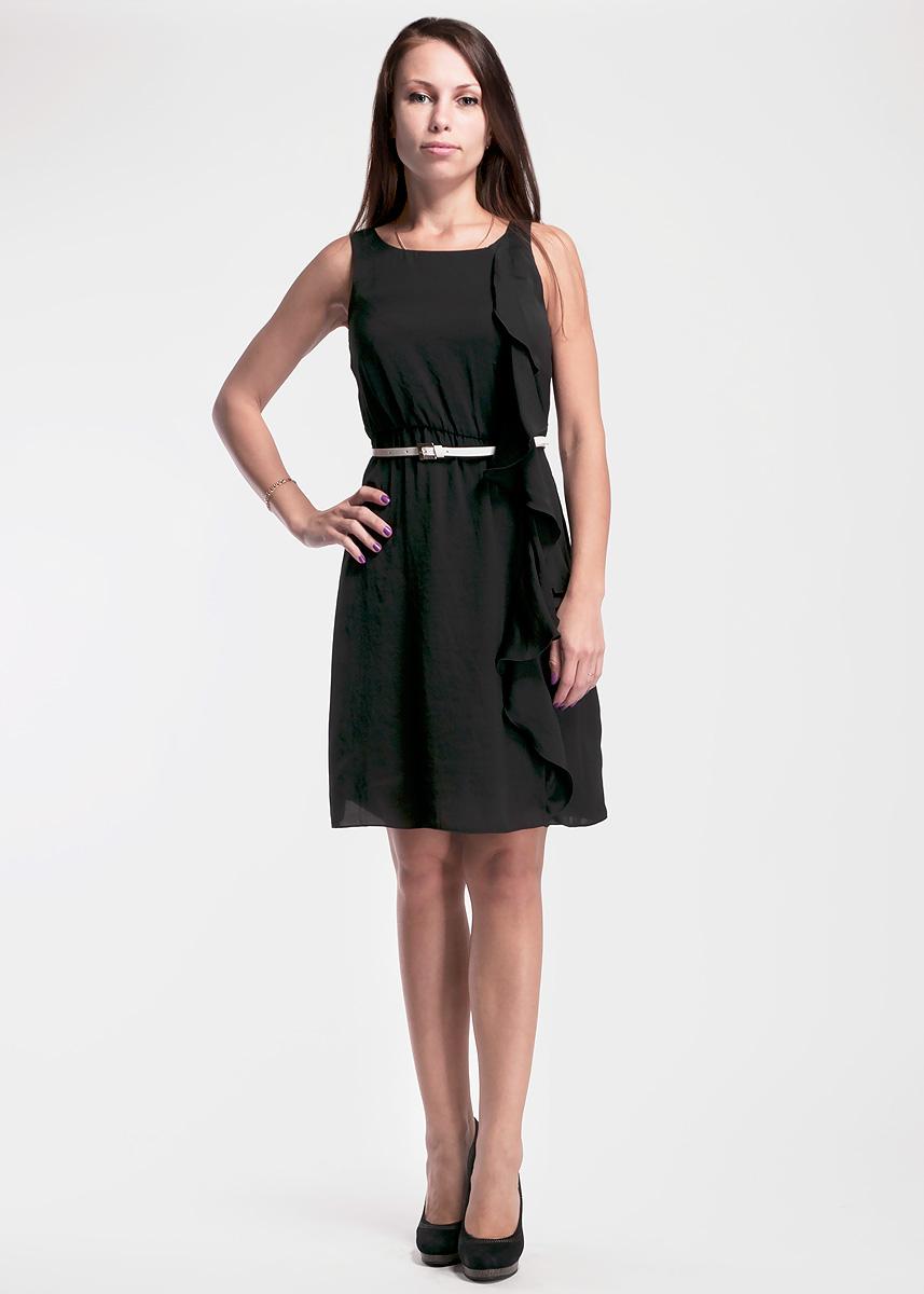 Платье Toy G, цвет: черный. 61D2J1. Размер 42 (46)