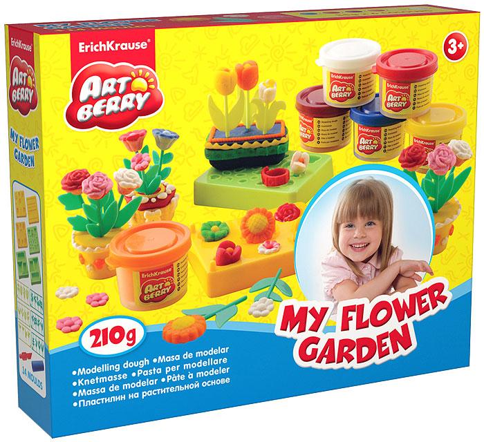 Набор для лепки (на растительной основе) My Flower Garden, 6 цветов30383Пластилин на растительной основе My Flower Garden - увлекательная игрушка, развивающая у ребенка мелкую моторику рук, воображение и творческое мышление. Пластилин легко разминается, не липнет к рукам и рабочей поверхности, не пачкает одежду. Цвета смешиваются между собой, образуя новые оттенки. Пластилин застывает на открытом воздухе через 24 часа. Набор содержит пластилин 6 цветов (синего, белого, малинового, красного, оранжевого, желтого), 6 форм-трафаретов для создания пластилиновых цветов в горшочках, 24 пластиковых стебля с листочками, валик, стек. Пластилин каждого цвета хранится в отдельной пластиковой баночке. С пластилином на растительной основе My Flower Garden ваш ребенок будет часами занят игрой. Характеристики:Общий вес пластилина: 210 г. Средний размер форм-трафаретов: 7,5 см x 6 см x 1,5 см. Средний длина стеблей: 5 см. Длина стека: 11,5 см. Длина валика: 9 см. Размер упаковки: 24 см x 18 см x 4,5 см. Изготовитель: Россия.