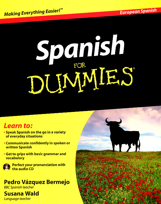 все цены на  Spanish for Dummies (+ CD-ROM)  в интернете