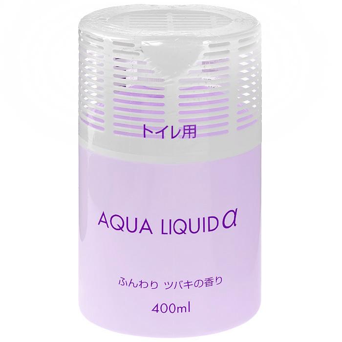 Освежитель воздуха Nagara Aqua liquid для туалета, с ароматом лаванды, 400 мл ароматизатор воздуха chupa chups яблоко на дефлектор мембранный 5 мл