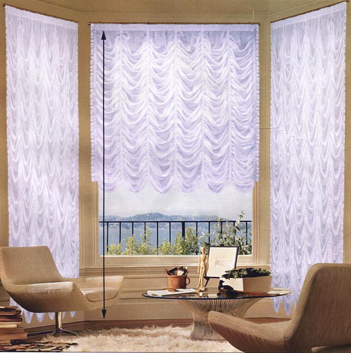 Гардина Zlata Korunka, на ленте, цвет: белый, 560 см х 550 смБ018/1Изящная и торжественная гардина Zlata Korunka изготовлена из высококачественного полиэстера белого цвета. Она является великолепным украшением для залов и гостиных. Прекрасно смотрится в комнатах и кухнях с эркерным окном. В гардину вшита универсальная шторная лента. Оригинальный дизайн гардины не оставит никого равнодушным и удовлетворит даже самый изысканный вкус. Характеристики:Материал: 100% полиэстер. Цвет: белый. Размер упаковки:31 см х 8 см х 36 см. Производитель: Польша. Изготовитель: Россия. Артикул: Б018/1.В комплект входит:Гардина - 1 шт. Размер (ШхВ): 560 см х 550 см.