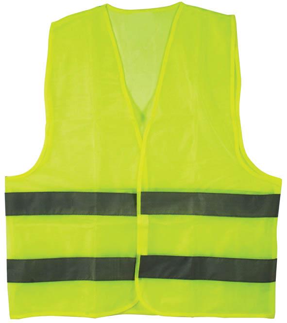 Жилет сигнальный сеточка, цвет: желтый,XXL12141Жилет с 2-мя горизонтальными световозвращающими полосами. Из сетчатой ткани, пропускающей воздух. Используется для улучшения видимости при работе в темное время суток. Во время дорожных, строительных работ, во время ремонта машины на дороге, при работе рядом с транспортом. Характеристики: Материал: 100% ПЭ. Размер: XXL. Размер в упаковке: 21 см х 24 см х 1 см.