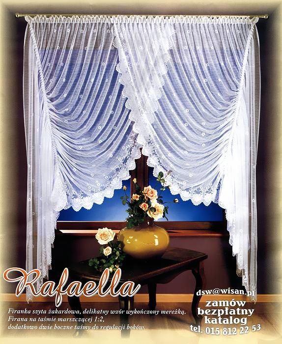 Комплект штор Rafaella, на ленте, цвет: белый, высота 250 см681938Комплект штор Rafaella состоит из двух полотен, сшитых вместе с эффектом нахлеста. Шторы изготовлены из легкого воздушного полиэстера белого цвета и оформлены кружевом.Тонкое плетение и оригинальное исполнение привлекут к себе внимание и органично впишутся в интерьер комнаты. В шторы вшита шторная лента. Характеристики:Материал: 100% полиэстер. Цвет: белый. Размер упаковки:38 см х 28 см х 6 см. Артикул: 681938.В комплект входит: Штора - 1 шт. Размер (ШхВ): 400 см х 250 см. Фирма Wisan на польском рынке существует уже более пятидесяти лет и является одной из лучших польских фабрик по производству штор и тканей. Ассортимент фирмы представлен готовыми комплектами штор для гостиной, детской, кухни, а также текстилем для кухни (скатерти, салфетки, дорожки, кухонные занавески). Модельный ряд отличает оригинальный дизайн, высокое качество. Ассортимент продукции постоянно пополняется.