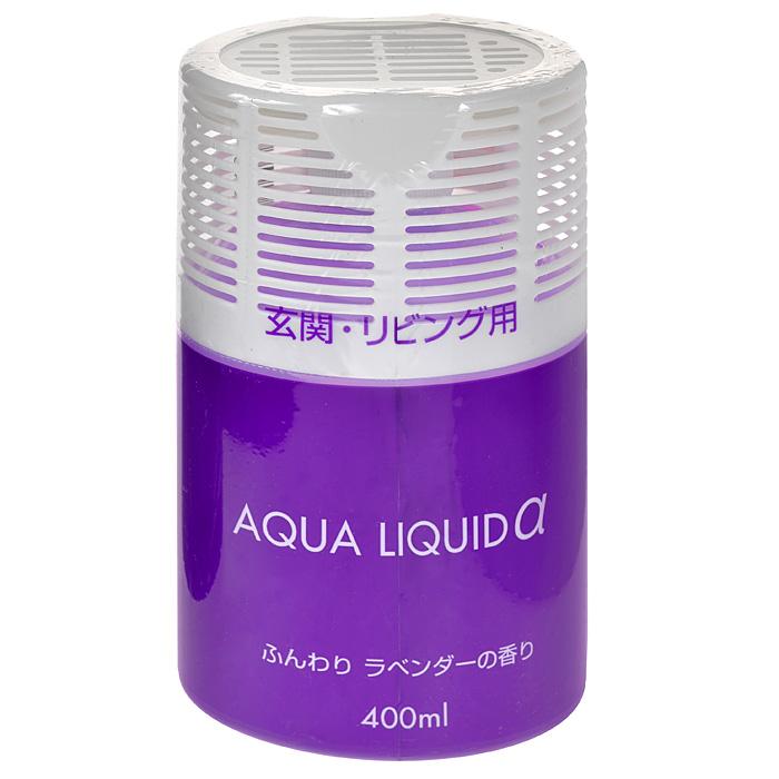 Освежитель воздуха Nagara Aqua liquid для коридоров и жилых помещений, с ароматом лаванды, 400 мл ароматизатор воздуха chupa chups яблоко на дефлектор мембранный 5 мл