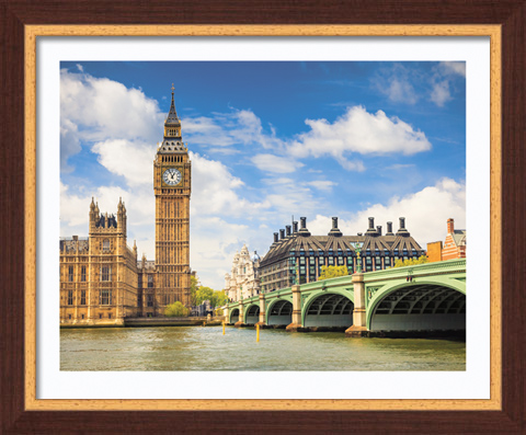 Постер в раме Темза, 40 x 50 см постер в раме дерево 30х60 см