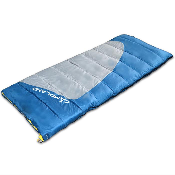 Спальный мешок-одеяло Campland Tender250, правосторонняя молнияTender 250Комфортный спальник-одеяло имеет прямоугольную форму и одинаковую ширину как вверху, так и внизу, благодаря чему ноги чувствуют себя более свободно. Молния располагается на боковой стороне, благодаря чему при её расстёгивании спальник превращается в довольно большое одеяло. Характеристики:Размер спального мешка с учетом подголовника: 190 см х 80 см. Утеплитель: hollowfiber, 250 г/м2. Внешний материал: полиэстер 190Т. Внутренний материал: хлопок/полиэстер. Экстремальная температура: -3°C. Температура комфорта: 7°C...15°С. Вес: 1,32 кг. Изготовитель:Китай. Размер в сложенном виде: 41 см х 25 см х 25 см. Артикул:Tender 250.Что взять с собой в поход?. Статья OZON Гид