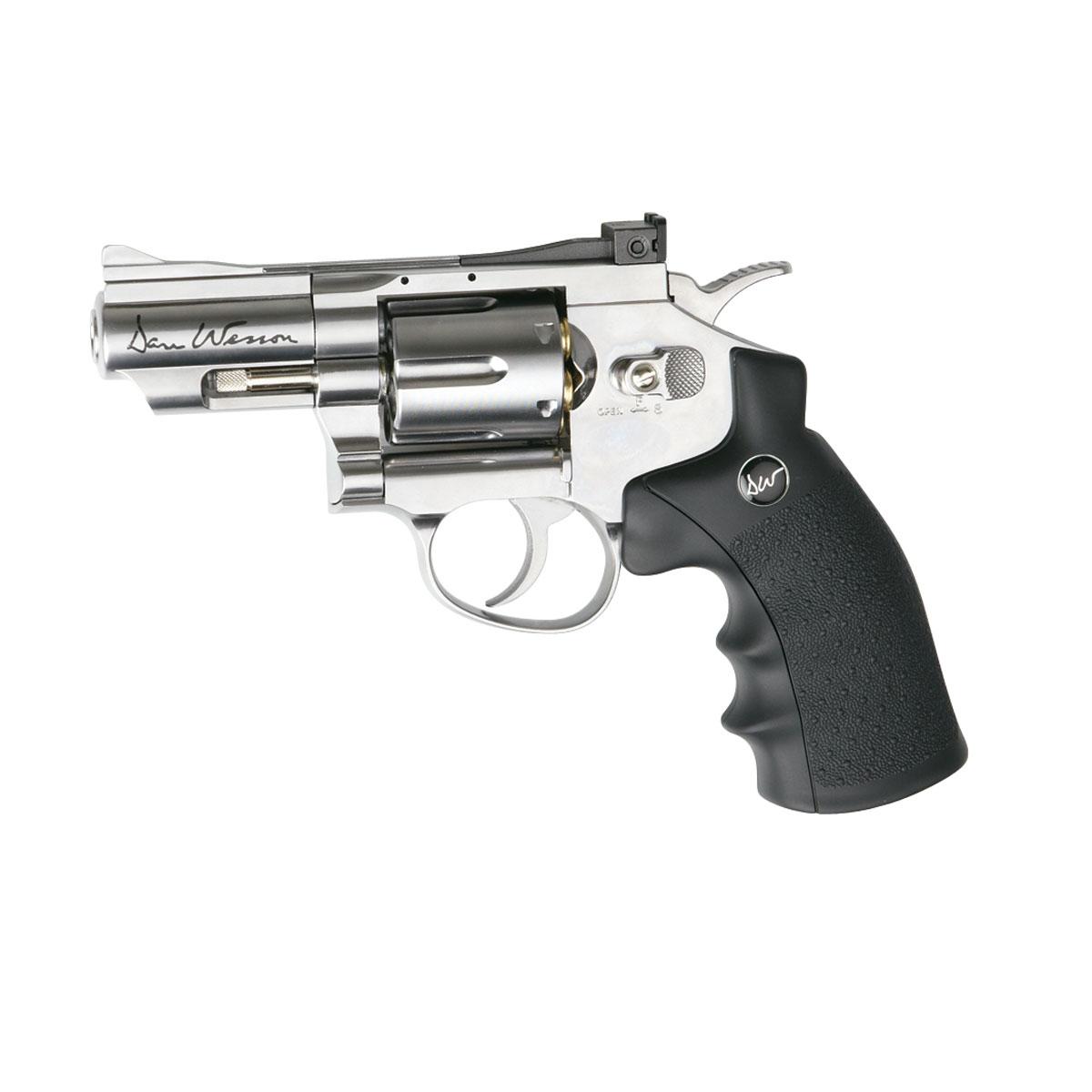 "ASG ""Dan Wesson 2.5inch"" револьвер пневматический CO2, 4,5 мм, цвет: Silver (17177)"