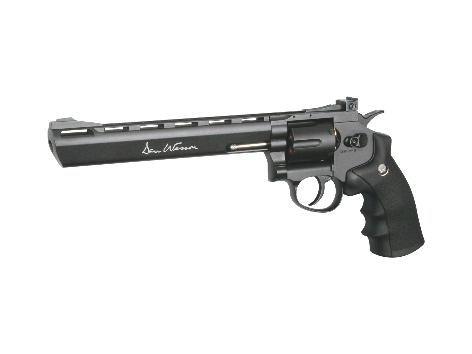 ASG Dan Wesson 8inch револьвер пневматический CO2, 4,5 мм, цвет: Grey (16183) цена