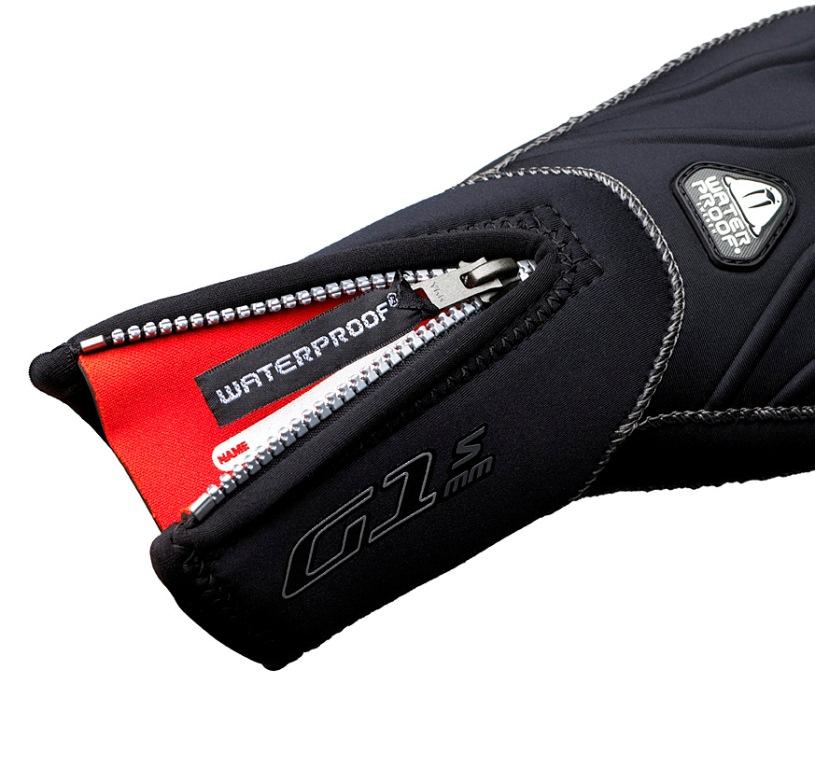 """Неопреновые перчатки Waterproof """"G1"""", 5-палые, толщина: 3 мм. Размер XXL"""