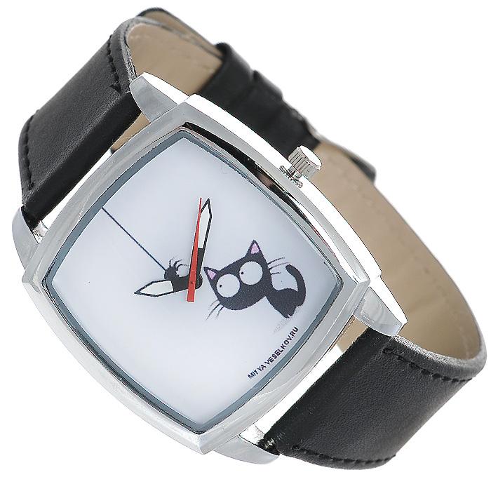 Часы Mitya Veselkov Кошка и паучок. CH-23