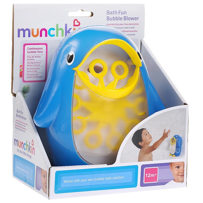 Игрушка для ванной Munchkin Мыльные пузыри munchkin игрушка для ванной змейка