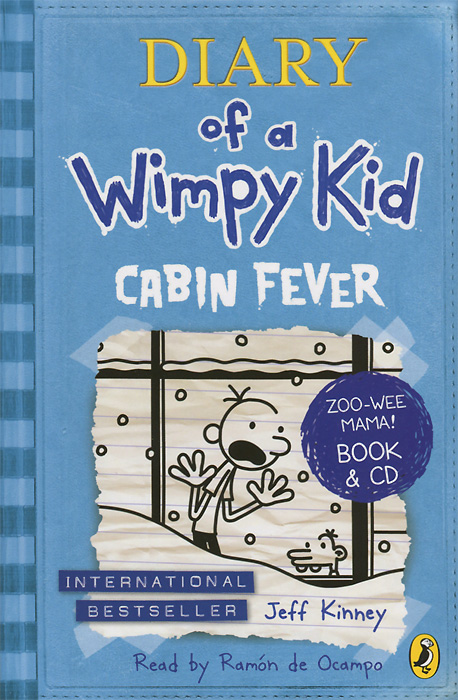 Diary of a Wimpy Kid: Cabin Fever (+ CD-ROM) the wimpy kid movie diary the next chapter