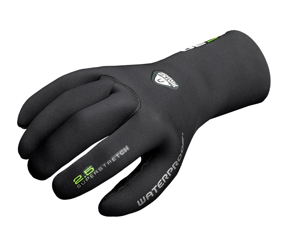 Неопреновые перчатки Waterproof  G30 , толщина 2,5 мм. Размер M - Дайвинг