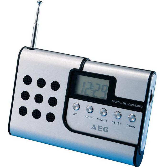 AEG DRR 4107, Aluminium радиоприемник - Магнитолы, радиоприемники