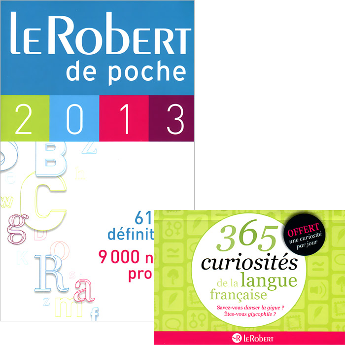 Le Robert de poche 2013: Dictionnaire (+ брошюра) dictionnaire de citations francaises
