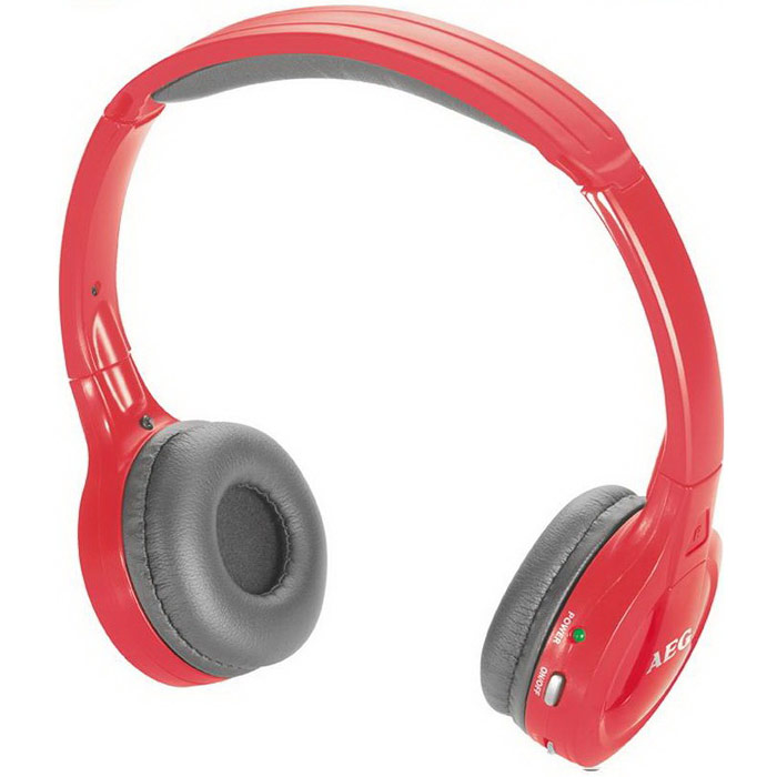 AEG KH 4223 BT Stereo, Red Bluetooth-наушники aeg kh 4223 bt stereo red bluetooth наушники