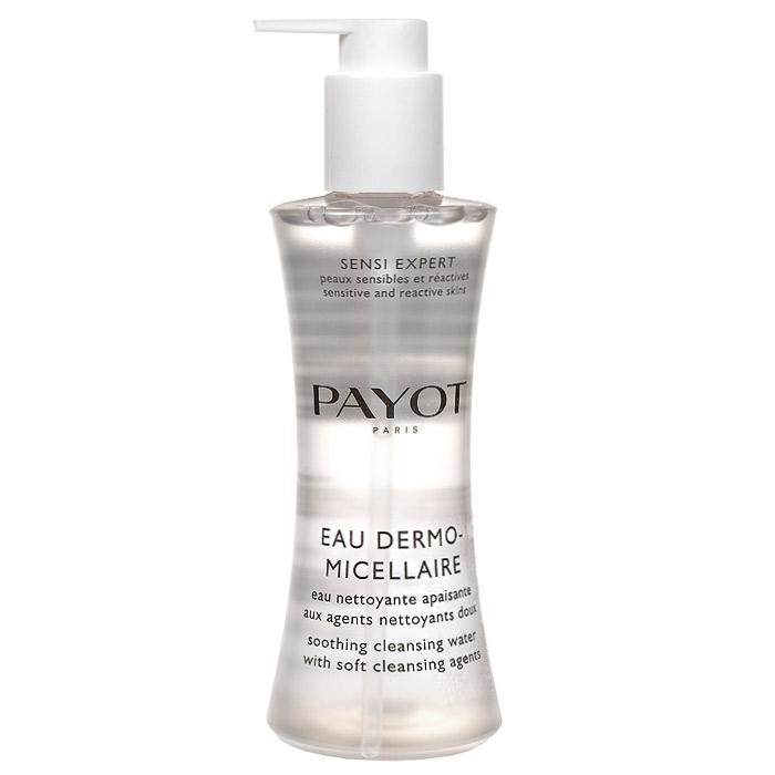 Payot Очищающий успокаивающий лосьон Sensi Expert, 200 мл65079695Мицеллярная вода удаляет макияж, очищает и тонизирует кожу лица и области глаз, уменьшает покраснения и ощущение дискомфорта.Наносите воду утром и вечером с помощью ватного диска на кожу лица, шеи и декольте, а также области глаз. Не смывать водой!