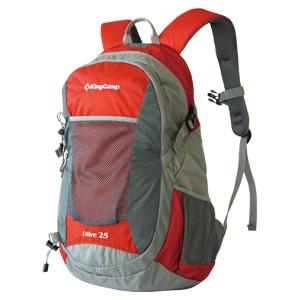 Рюкзак городской KingCamp Oliv 25L, цвет: красный рюкзак городской kingcamp royals 30l цвет черный