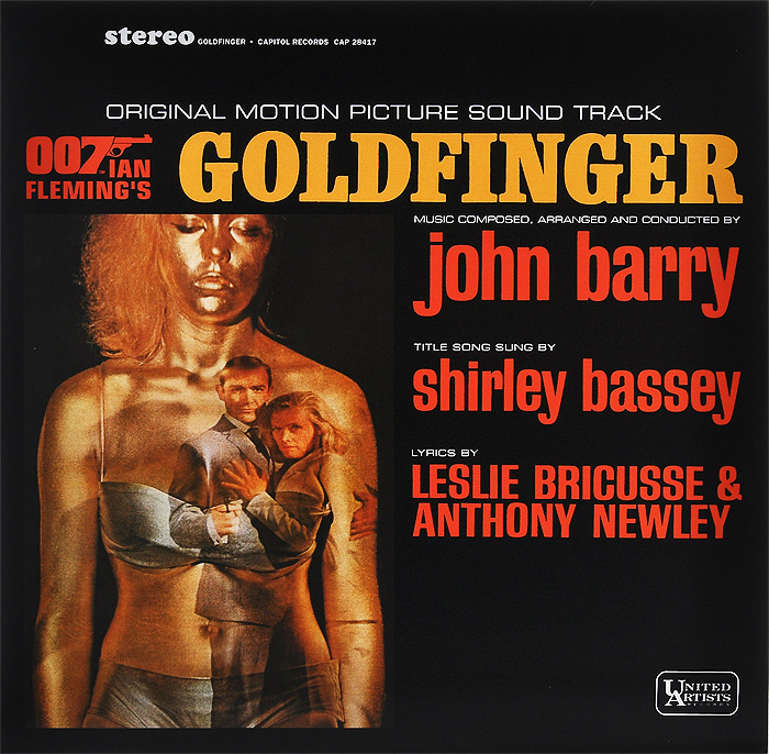 Ширли Бэсси Goldfinger. Original Motion Picture Sound Track (LP) black girl original sound track recording