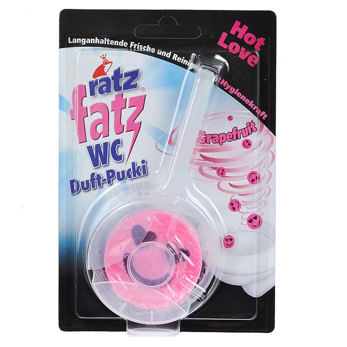 Камень дезодорирующий для унитаза Ratz Fatz, с гелем, грейпфрут, 50 г108123В отличие от стандартных дезодорирующих камней Ratz Fatz, сочетает в себе чистящую основу и высококонцентрированный освежающий гель. Этот гель обеспечивает постоянную и равномерную свежесть туалетной комнаты на протяжении до 4 недель.Товар сертифицирован.Как выбрать качественную бытовую химию, безопасную для природы и людей. Статья OZON Гид
