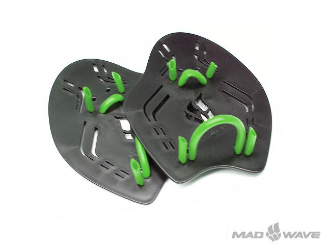 Лопатки для плавания MadWave  Extreme , цвет: черный, размер M - Плавание