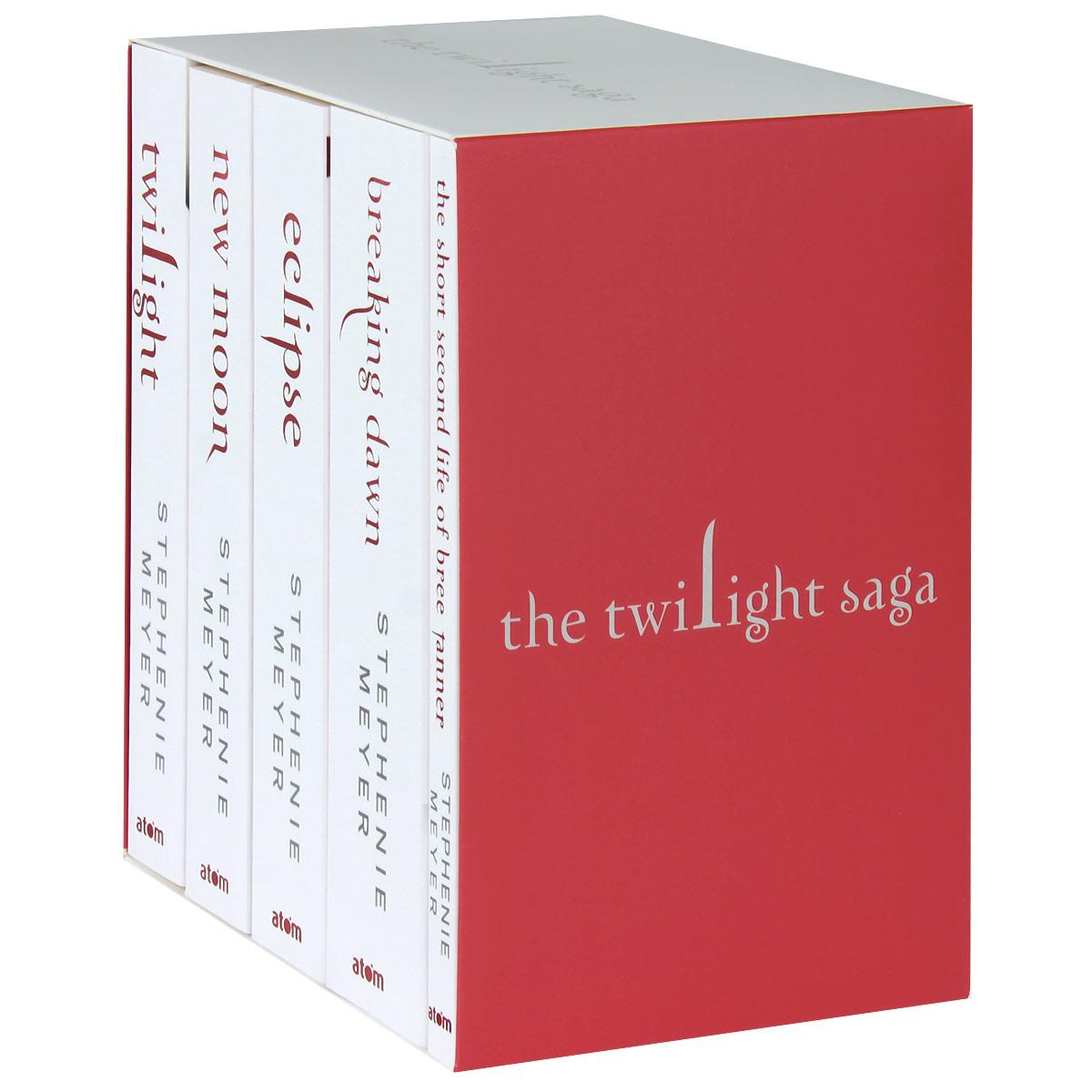 The Twilight Saga (комплект из 5 книг) и бунин комплект из 5 книг