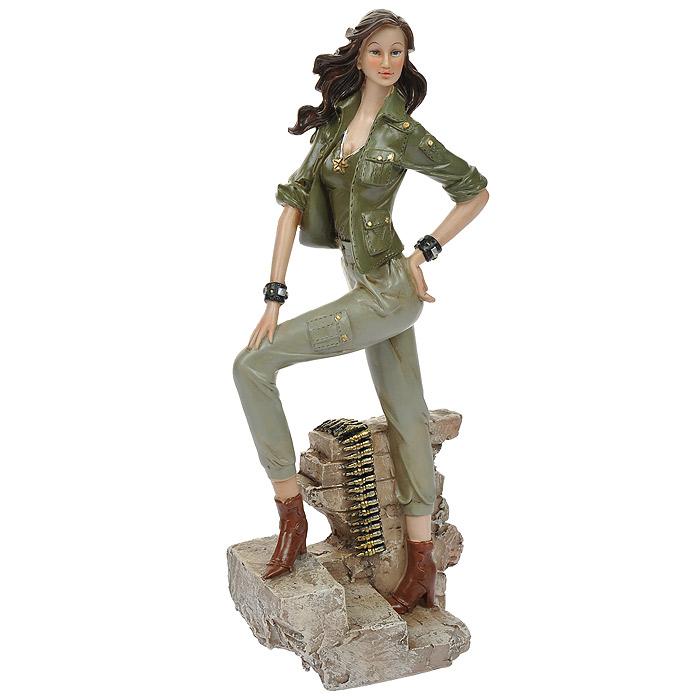 Статуэтка Хаки ей к лицу, высота 31 см514-1046Статуэтка Хаки ей к лицу, выполненная из полистоуна, станет отличным украшением интерьера вашего дома или офиса. Статуэтка выполнена в виде девушки в одежде цвета хаки.Вы можете поставить статуэтку в любом месте, где она будет удачно смотреться, и радовать глаз. Также она может стать оригинальным подарком для всех любителей стильных вещей. Характеристики:Материал: полистоун. Размер статуэтки (Ш х Д х В): 12 см х 8 см х 31 см. Размер упаковки: 11,5 см х 16 см х 36 см. Артикул: 514-1046.