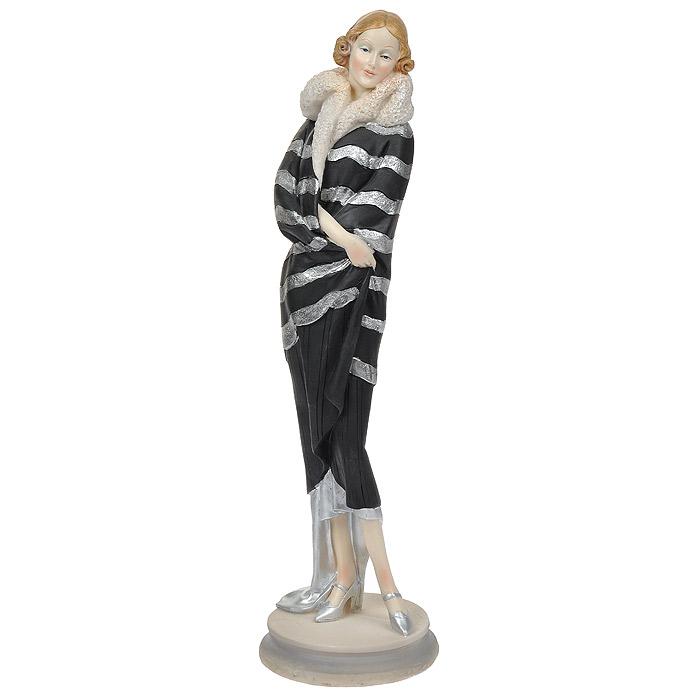 Статуэтка Девушка в манто, высота 33 см статуэтки parastone статуэтка девушка весна