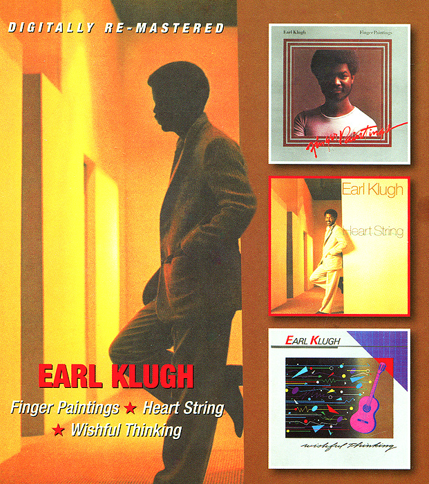 Эрл Клаф Earl Klugh. Finger Painting / Heart String / Wishful Thinking (2 CD) джордж бенсон эрл клаф george benson earl klugh collaboration