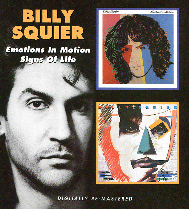 Billy Squier.  Emotions In Motion / Signs Of Life (2 CD) BGO Records,Концерн