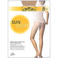 Колготки Omsa Sun Light 8. Beige Naturel (бежево-телесные). Размер 2