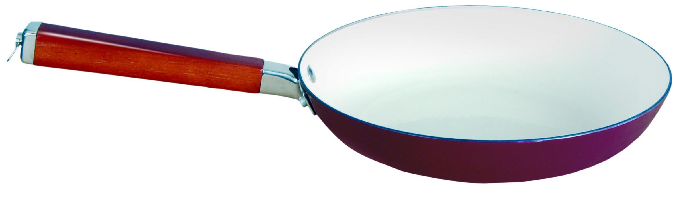 Сковорода Winner, чугунная, цвет: бордо. Диаметр 24 смWR-6201Сковорода Winner выполнена из высококачественного чугуна и внутри и снаружи покрыта эмалью, благодаря которому приобретает уникальные свойства и эксплуатационные характеристики.Сковорода имеет удобную эргономичную ручку, выполненную из сочетания дерева и нержавеющей стали. В процессе приготовления рекомендуется использовать деревянные или пластиковые лопатки. Не используйте металлические губки и острые предметы, чтобы удалить остатки пищи с посуды, а также отбеливатели и моющие средства содержащие хлор. Подходит для использования на индукционной плите. Рекомендована ручная чистка. Характеристики:Материал: чугун, дерево, нержавеющая сталь. Диаметр сковороды: 24 см. Высота стенки: 5 см. Длина ручки: 19 см. Производитель: Китай. Размер упаковки: 44 см х 25 см х 5 см. Артикул: WR-6201.