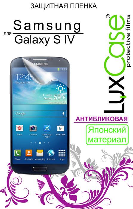 Luxcase защитная пленка для Samsung Galaxy S IV (i9500), антибликовая