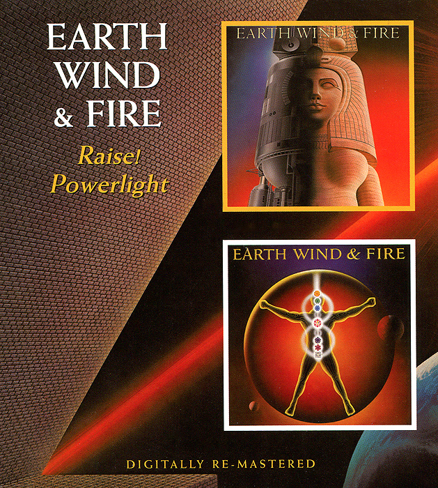Earth, Wind And Fire Earth Wind & Fire. Raise / Powerlight earth wind fire earth wind fire earth wind fire