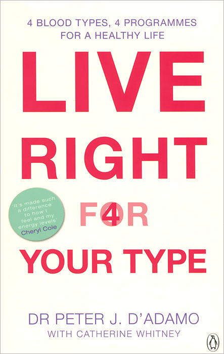 Live Right for Your Type huge right