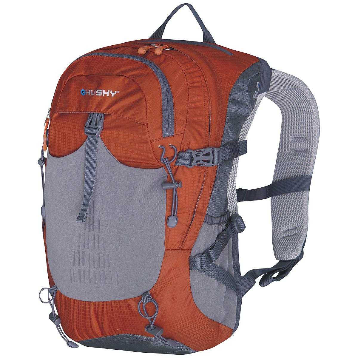 Рюкзак городской Husky Spiner 20, цвет: оранжевый рюкзак городской husky boost 20 цвет черный 20 л