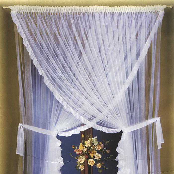 Комплект штор Rarsana, цвет: белый, высота 250 см681860Комплект легких штор Rarsana белого цвета станет великолепным украшением любого окна. Вуалевые шторы из полиэстера с блестящим отливом сшиты между собой верхней частью, по краям изделий атласные сборки. Для более изящного расположения штор на окне прилагаются подхваты. Все элементы комплекта на шторной ленте для собирания в сборки и на кулиске для круглого карниза. Характеристики:Материал: 100% полиэстер. Цвет: белый. Размер упаковки:25 см х 36 см х 10 см. Артикул: 681860. В комплект входит:Штора - 1 шт. Размер (ШхВ): 250 см х 250 см.Штора - 1 шт. Размер (ШхВ): 250 см х 250 см. Фирма Wisan на польском рынке существует уже более пятидесяти лет и является одной из лучших польских фабрик по производству штор и тканей. Ассортимент фирмы представлен готовыми комплектами штор для гостиной, детской, кухни, а также текстилем для кухни (скатерти, салфетки, дорожки, кухонные занавески). Модельный ряд отличает оригинальный дизайн, высокое качество.Ассортимент продукции постоянно пополняется.
