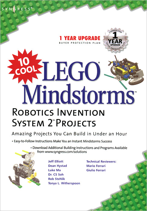10 Cool Lego Mindstorm Robotics Invention System 2 Projects: Amazing Projects You Can Build in Under an Hour managing projects made simple