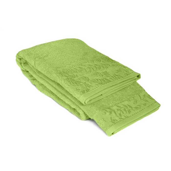 Полотенце махровое Tete-a-Tete, цвет: зеленый, 50 см х 90 см. Т-МП-7185-01-08 полотенце махровое tete a tete цвет голубой 90 х 150 см т мп 7161 03 06