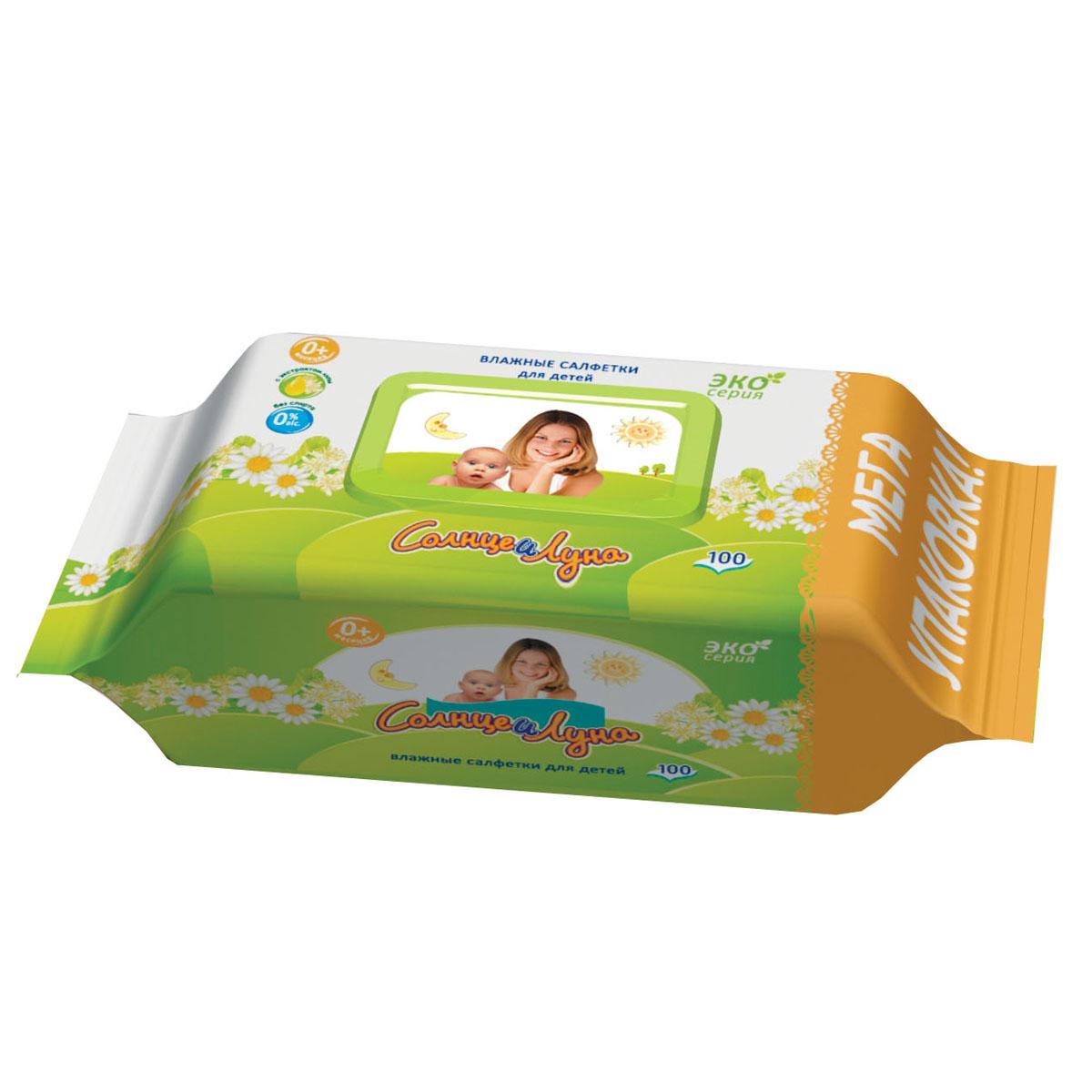 Солнце и Луна Влажные салфетки для детей, 100 шт5499Влажные салфетки для детей Солнце и Луна созданы специально для очищения нежной детской кожи.Основные качества влажных салфеток для детей:Нежные салфетки очищают и увлажняют кожу малыша, обладают антисептическими свойствами. Материал салфетки пропитан гипоаллергенным составом, поддерживающим естественный рН баланс кожи ребенка. Не содержат спирта и не вызывают аллергии или раздражения. Незаменимы для ежедневного ухода за кожей ребенка. Характеристики:Размер упаковки: 19 см х 8 см х 10 см. Количество салфеток: 100 шт. Производитель:Турция Товар сертифицирован.