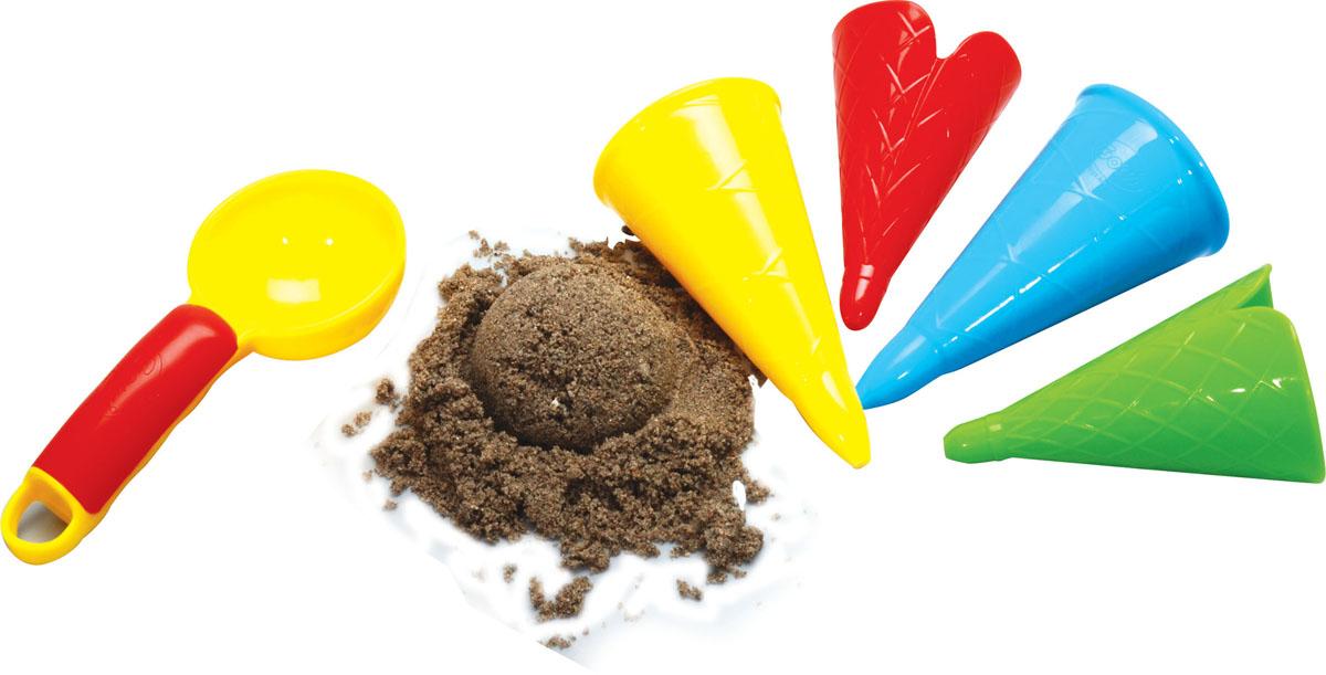 Набор для песочницы Gowi Формочки-мороженое, 5 предметов