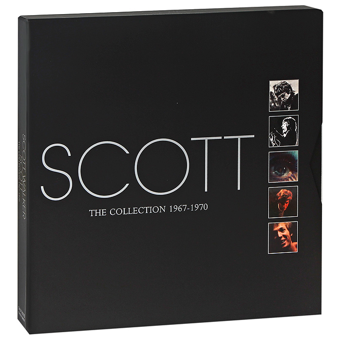 Скотт Уокер Scott Walker. The Collection 1967-1970 (5 LP) lp a640c