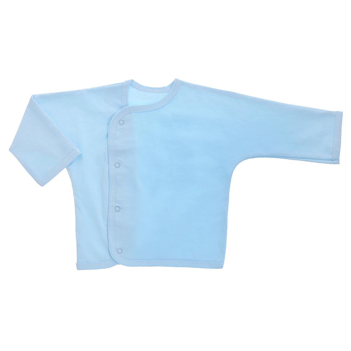 Кофточка Трон-плюс, цвет: голубой. 5153. Размер 80, 12 месяцев комбинезон детский трон плюс цвет белый голубой 5815 горох размер 80 12 месяцев
