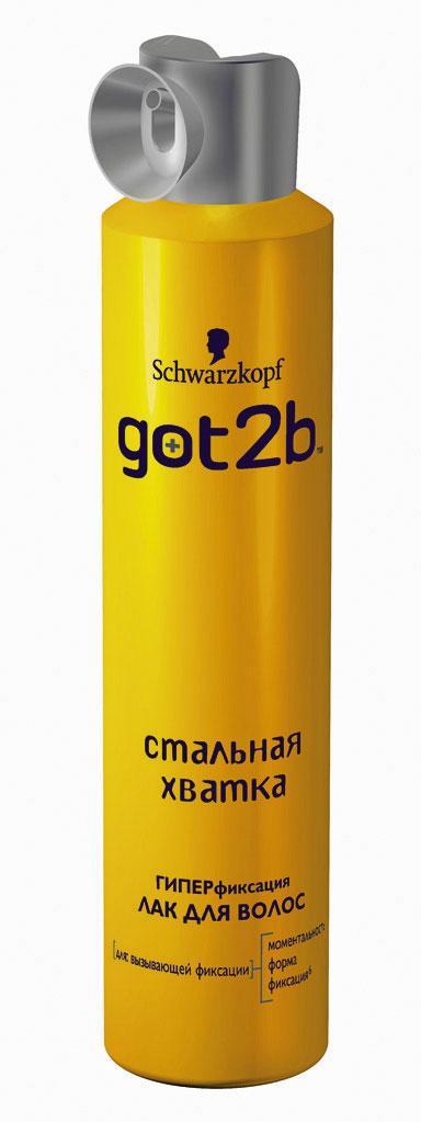 Got2b Лак для волос Стальная хватка, 300 мл9045010С помощью лака для волос Стальная хватка придай невообразимо сильную фиксацию укладке и зафиксируй. С ароматом зеленого яблока и лимона.Применение: равномерно распылить лак на уложенные волосы с расстояния 30 см. Для объема и дополнительной фиксации наноси непосредственно на выбранные участки волос.Характеристики:Объем: 300 мл. Артикул: 1427361. Производитель: Германия. Товар сертифицирован.