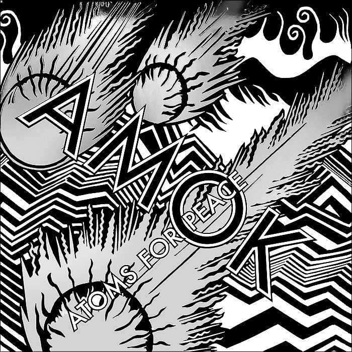 Atoms For Peace. Amok (2 LP + CD)