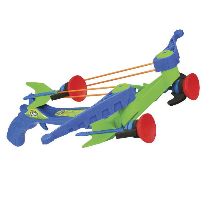 Арбалет ZX-Crossbow, со стрелами, цвет: синий, зеленый бластер zing ztek crossbow as957