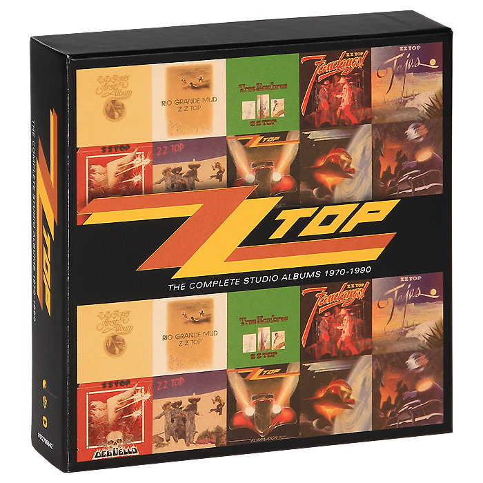 ZZ Top. The Complete Studio Albums 1970-1990 (10 CD)