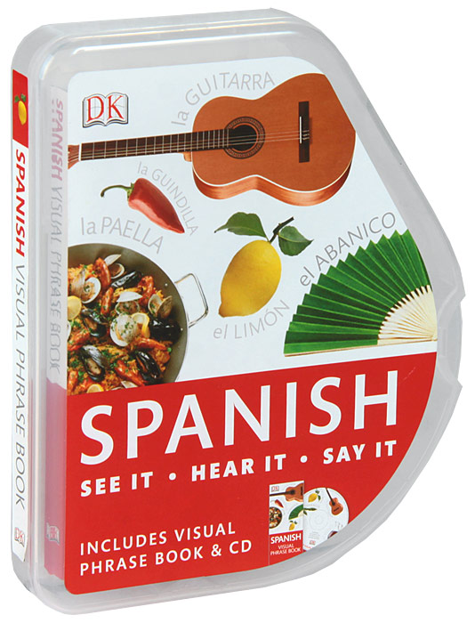 Spanish Visual Phrase Book (+ CD) russian phrase book