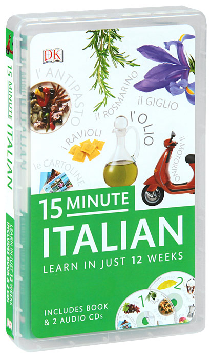 15-Minute Italian (+ 2 CD) easy learning speak french with cdx2