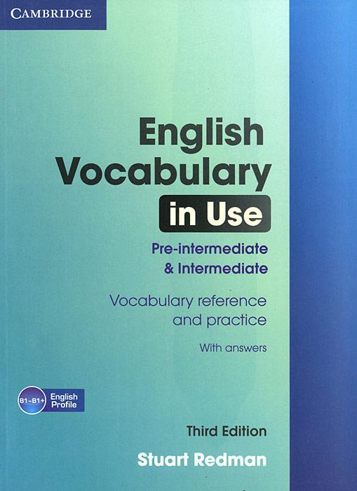 English Vocabulary in Use Pre-intermediate and Intermediate with Answers profession english in use medicine купить онлайн